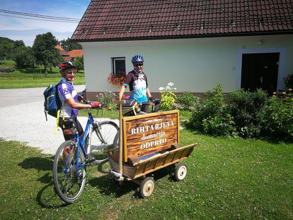 Rihtarjeva domačija kolesarki
