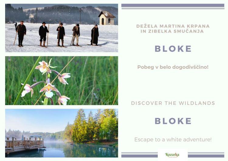 razglednica Bloke