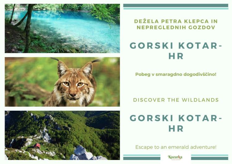 razglednica Gorski Kotar Hrvaška