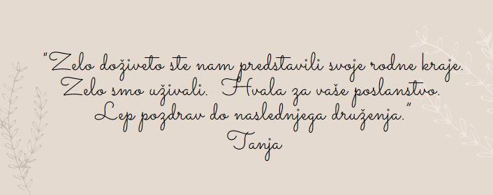 TUR ocena by Tanja
