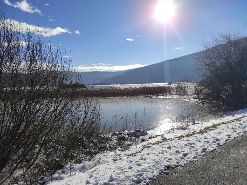 jezero G Jezero pozimi