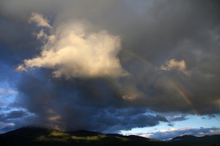 Nebo nad Racno goro by BK
