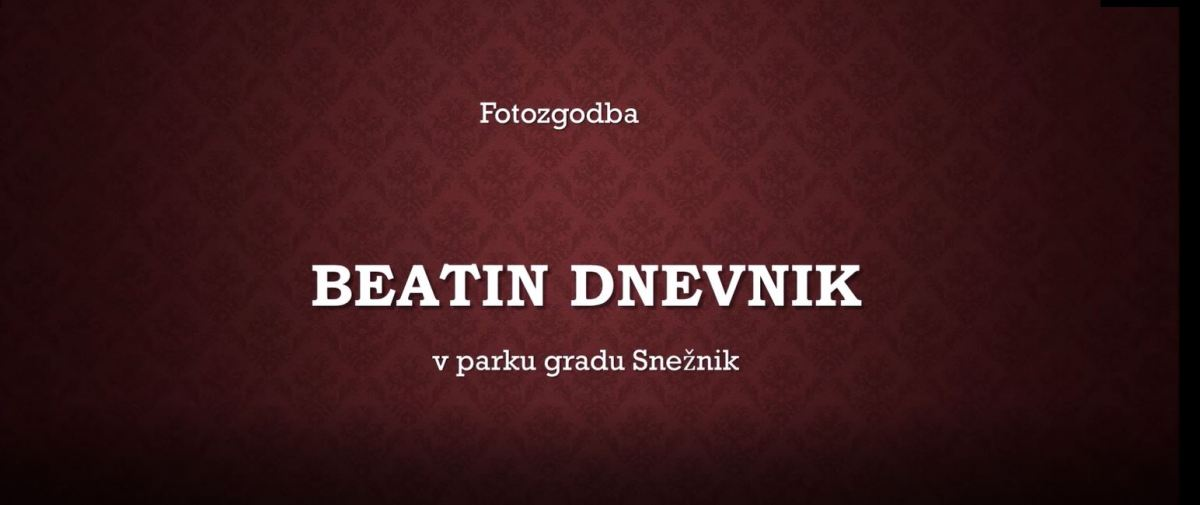 fotozgodba Beatin dnevnik