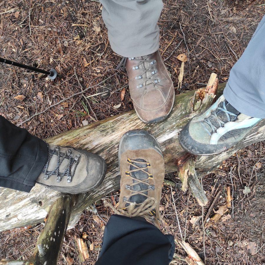 dobra obutev za varen korak